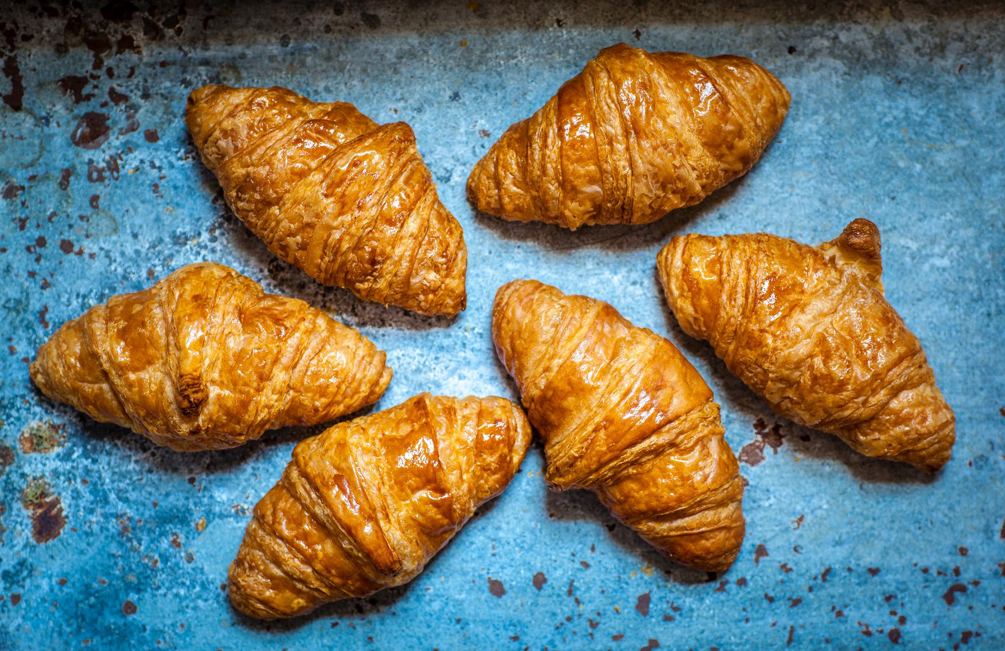Gewichtsverlust vom Croissant zum Herd